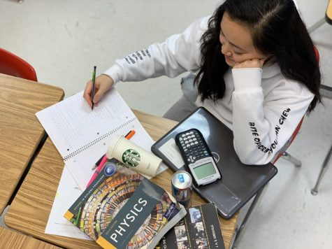 Students take on standardized tests