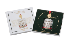Green Atoms hold White House Christmas Ornament fundraiser