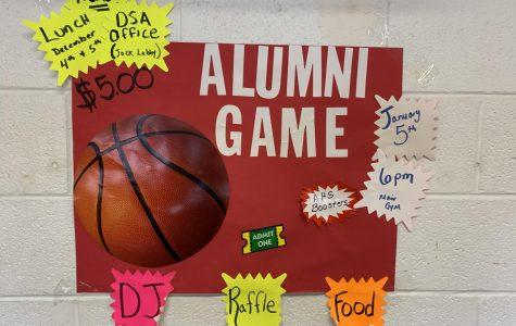 Alumni basketball game set for Jan. 5