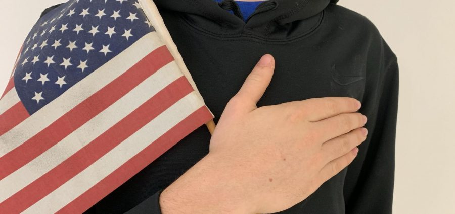 Should students stand for the pledge?
