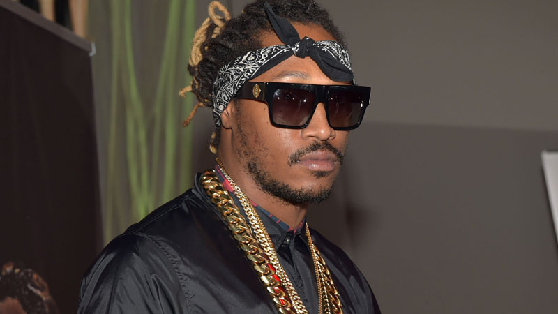 Rapper+Future+%28pictured+above%29+poses+for+a+picture+in+his+photo+shoot+for+his+album+The+Wzrd.