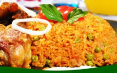 How to cook Ghanian Jollof Rice.