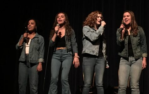 Chorus students put on a spectacular production of Broadway Desserts