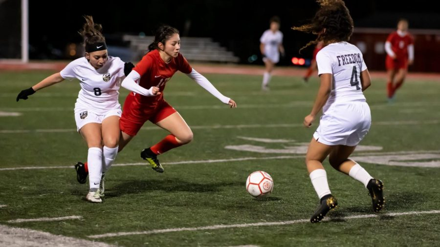 Girls blow out Freedom and Wakefield