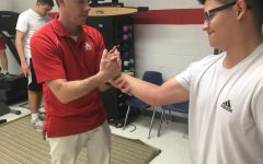Athletic trainers heal injured