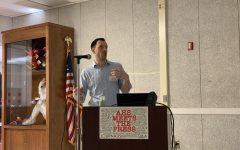 "Seth Blanchard speaks at ""AHS Meets the Press"""
