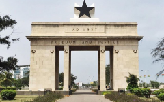 Going through Ghana's Black Star Gate
