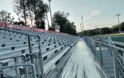 New bleachers finished to mixed reception