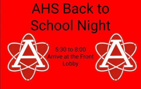 Back to School Night to be held tomorrow