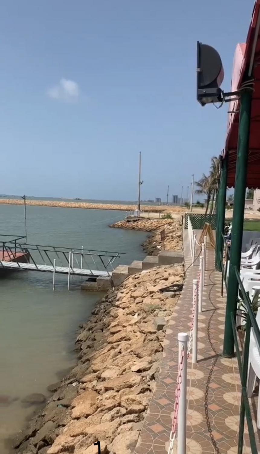 The Korangi Creek is located in the Sindh Province of Karachi.