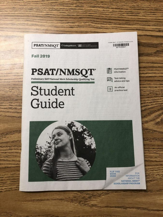 AHS students prepare for the PSAT
