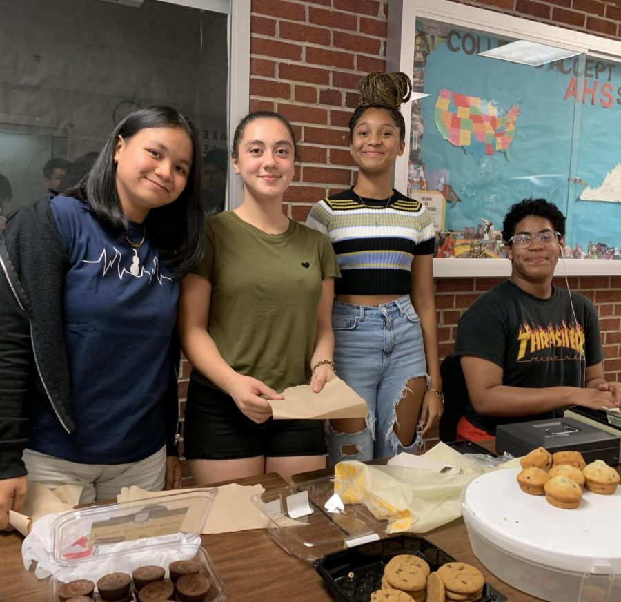 Orchestra hosts their first bake sale of the year