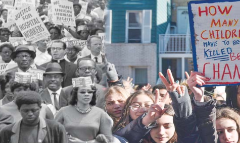 In 1958, teenagers in Wichita, Kansas participated in a sit-down protest for racial equality. Now, teenagers in the 21st century have to protest for gun control reforms due to the increase of school shootings, such as at Stoneman Douglas High School in Parkland, Florida. Though times have changed and new issues arise, students have proved that the youth voice should be heard.