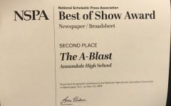 The A-Blast places second in the nation at fall convention