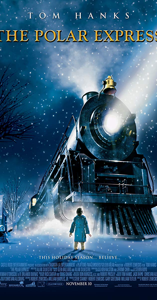 This was the top picked movie by the students with a vast majority choosing Polar Express as their top 5 movie.