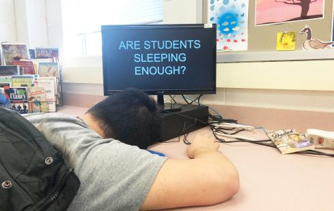 School work is keeping students up late