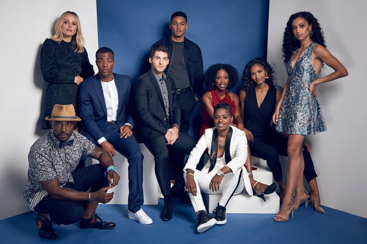 The main cast of the show,