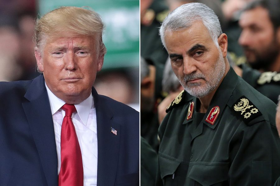 President+Trump+killed+Iranian+general+Qassem+Soleimani+in+a+targeted+airstrike.+He+was+killed+in+an+airport+in+Baghdad%2C+Iraq.+The+assassination+resulted+in+Iran+retaliating+by+striking+two+U.S.+military+bases+in+Iraq.