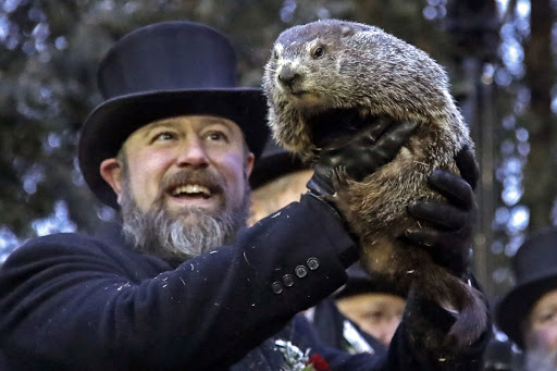 Groundhog forecasts for an early spring