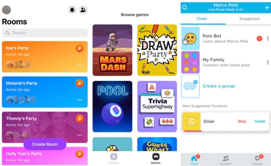 Students+keep+in+touch+with+these+three+apps