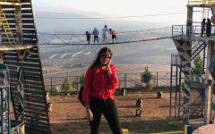 Junior Lara Dib visited Lebanon last summer.