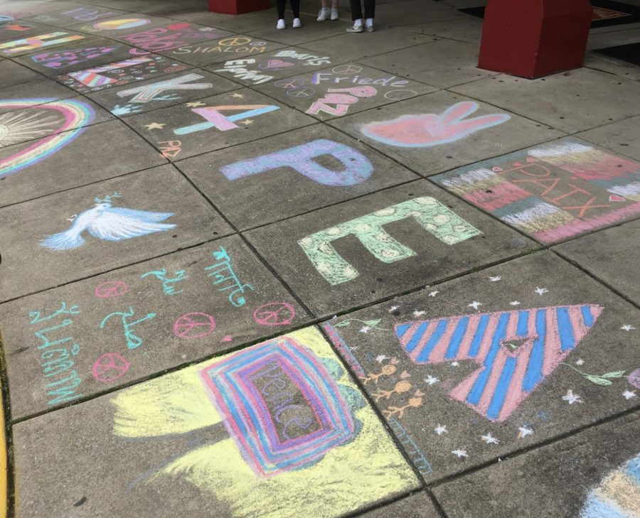 Annual Chalk for Peace event continues as planned