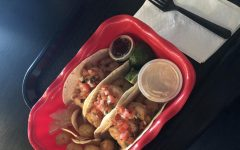 The shrimp tacos came with a variety of sides that were just as tasty.
