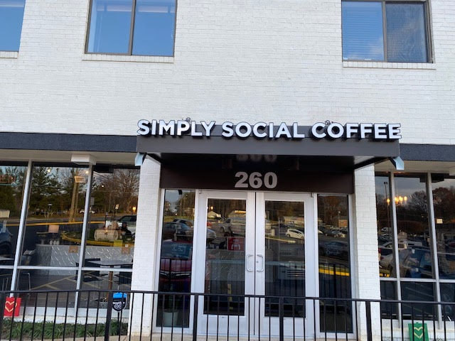 Simply Social Coffee is simply delicious