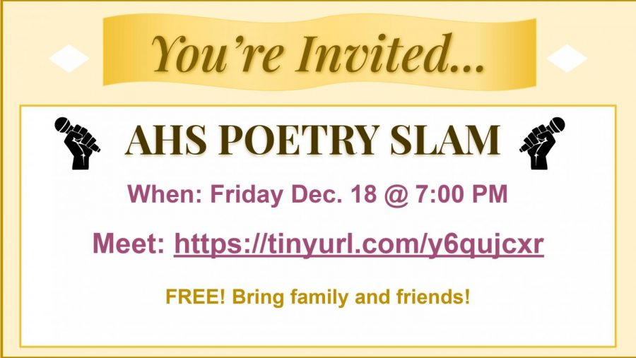 Poetry+Slam+to+take+place+on+Dec.+18+virtually