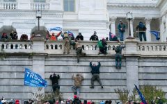 Trump supporters scaled walls in their riot at the U.S. Capitol on Jan. 7.