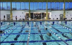 Atoms practice for their final meet against Mount Vernon
