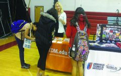 Last year a career fair was held to give students a welcome tour at which path to take.