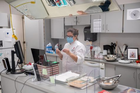 Cooking classes, like Culinary Arts and Gourmet, have required teachers to adapt to virtual learning for typically hands-on classes. They are also sometimes simultaneously dealing with in-person students.