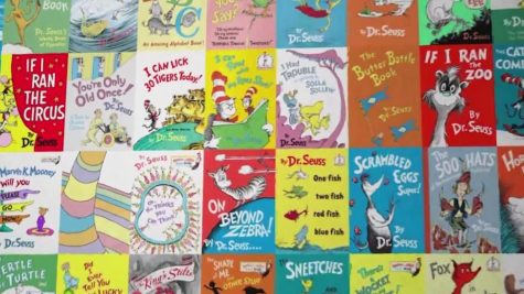 Dr. Seuss books containing racist remarks