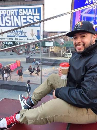 Centeno-Monroy, a Virginia native has spent time in Las Vegas as well as New York
