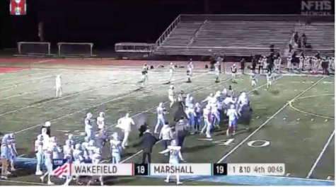 Wakefield athletes called slurs by Marshall during football game