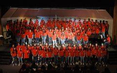 Choir prepares for first live concert