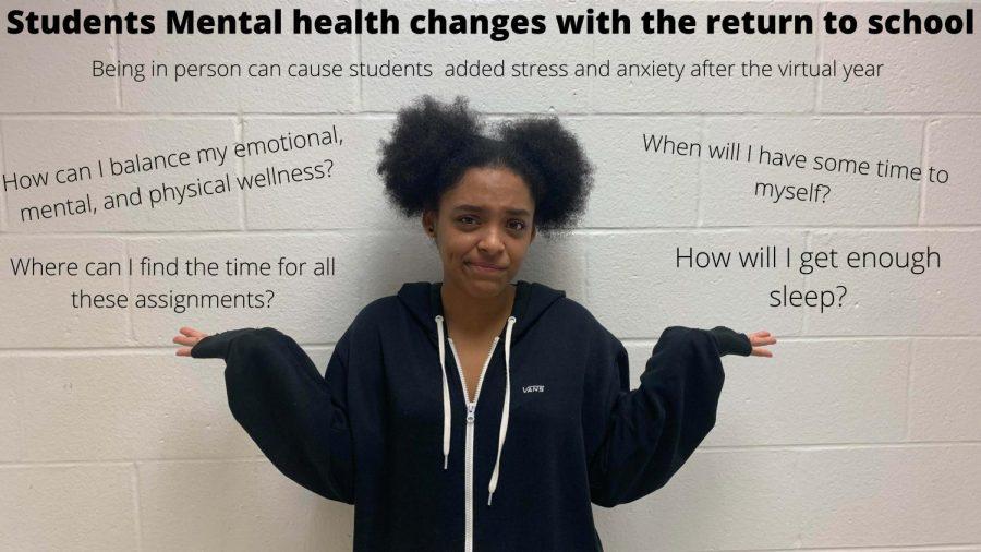Return to school affects mental health
