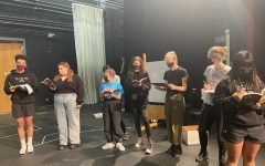 Rehearsal starts for the fall play
