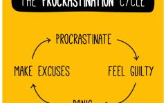 Procrastination stresses teens out